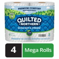 Quilted Northern Ultra Soft & Strong Bath Tissue 4 Rolls