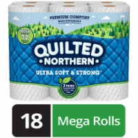 Quilted Northern Ultra Soft & Strong Unscented Bathroom Tissue Rolls
