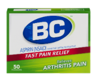 BC Arthritis Fast Pain Reliever Powders