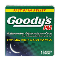 Goody's PM Powder Packs