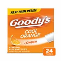 Goody's Cool Orange Headache Powders 24 Count