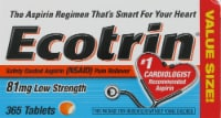 Ecotrin Low-Strength Tablets