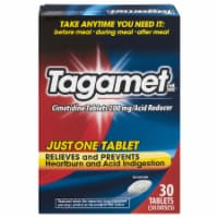 Tagamet Cimetidine Acid Reducer Tablets 200mg 30 Count