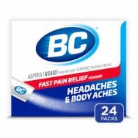 BC Aspirin Headache Fast Pain Relief Powders 24 Count