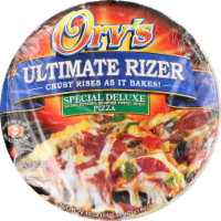Orv's Ultimate Rizer Special Deluxe Pizza