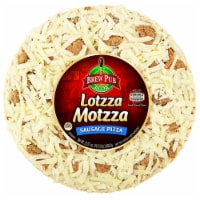 Brew Pub Pizza Lotzza Motzza Sausage Frozen Pizza - 25.25 oz