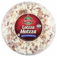 Brew Pub Pizza Lotzza Motzza Sausage & Mushroom Pizza