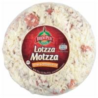 Brew Pub Pizza Lotzza Motzza Sausage & Pepperoni Pizza