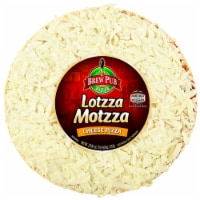 Brew Pub Pizza Lotzza Motzza Cheese Pizza