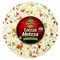 Brew Pub Pizza Lotzza Motzza Supreme Frozen Pizza