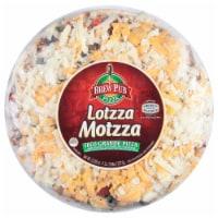 Brew Pub Lotzza Motzza Taco Grande Pizza