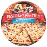 Orv's Pizzeria Ultra-Thin Sausage Frozen Pizza - 17.5 oz