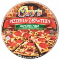 Orv's Pizzeria Ultra-Thin Supreme Frozen Pizza - 19.5 oz