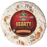 Brew Pub Hearty Artisan Crust Sausage & Pepperoni Pizza - 29.5 oz