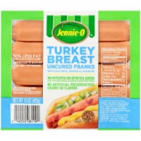 Jennie-O Turkey Breast Uncured Franks 8 Count