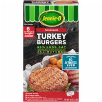 Jennie-O Seasoned Turkey Burgers 6 Count