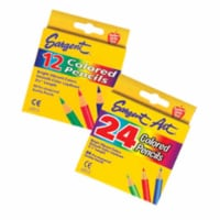 Sargent Art  SAR227218 Sargent Art Half-Sized Colored- Pencils 24 Color Set