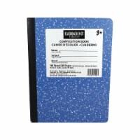 Sargent Art  Inc. SAR231550 Blue Composition Book 100 Sheets - 1