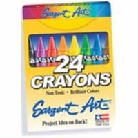 Crayons, Standard Size, 24 Colors - 1