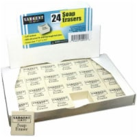Soap Erasers, Pack of 24 - 1