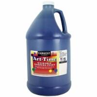 Sargent Art SAR173650 1 gal Art-Time Washable Paint - Blue - 1