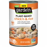 Gardein Vegan Plant-Based Chick'n & Rice Soup