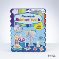 Rite Lite TY-14344 Chanukah Sticker Book, 200 Stickers, 4 Pages - 1
