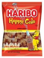 Haribo Gummi Candy, Happy Cola, 5 oz. Bags (12 count) - 12 Count
