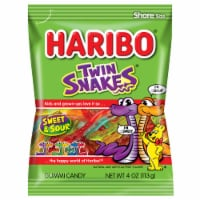 Haribo Twin Snakes Sweet & Sour Gummi Candy Share Size