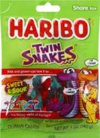 Haribo Twin Snakes Gummi Candy - 5 oz