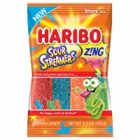 Haribo Zing Sour Streamers Gummi Candy