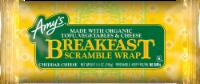 Amy's Cheddar Cheese Breakfast Scramble Wrap