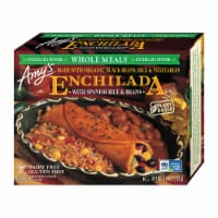 Amy's Enchilada with Spanish Rice & Beans Frozen Meal