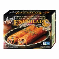 Amy's Black Bean Vegetable Enchilada