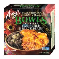 Amy's Tortilla Casserole & Black Beans Bowl Frozen Meal