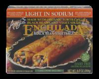 Amy's Black Bean & Vegetable Enchilada