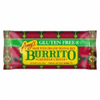 Amy's Gluten Free Cheddar Cheese with Beans & Rice Burrito