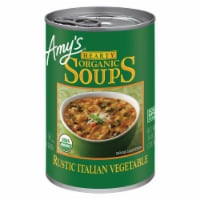 Amy's Organic Hearty Rustic Italian Vegetable Soup
