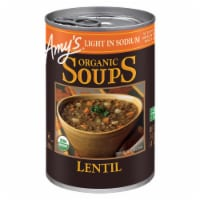 Amy's Organic Light in Sodium Lentil Soup