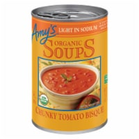 Amy's Organic Low Sodium Chunky Tomato Bisque Soup