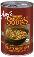 Amy's Organic Hearty Minestrone with Vegetables