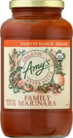 Amy's Organic Light in Sodium Family Marinara Pasta Sauce