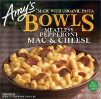 Amy's Meatless Pepperoni Mac & Cheese Bowl