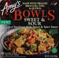 Amy's Sweet & Sour Organic Broccoli Tofu & Quinoa Bowl