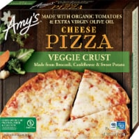 Amy's Veggie Crust Cheese Frozen Pizza