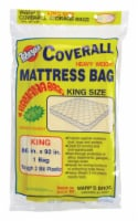 Warp's King Size Yellow Storage Bag - Case Of: 1; - Count of: 1