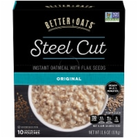 Better Oats Steel Cut Original Instant Oatmeal