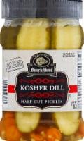 Boar's Head Kosher Dill Half-Cut Pickles - 26 fl oz