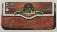 Boar's Head Uncured Naturally Smoked Turkey Bacon