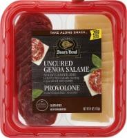 Boar's Head Uncured Genoa Salame Provolone Snack